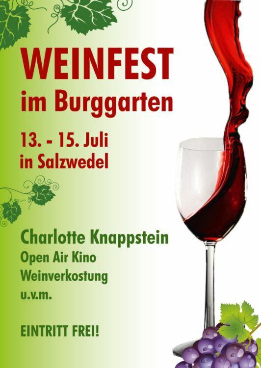 Weinfest Salzwedel