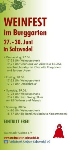 Weinfest Salzwedel 2013