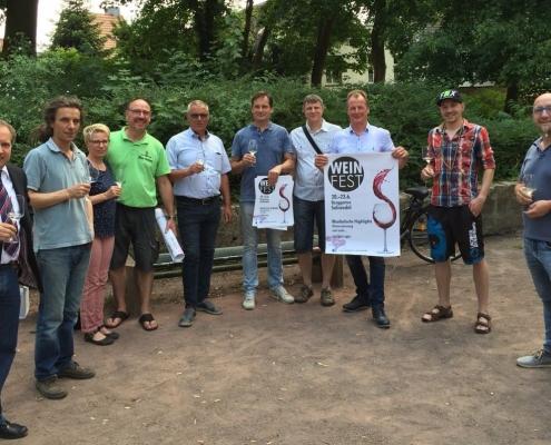 Pressetermin Stadtgeister Weinfest